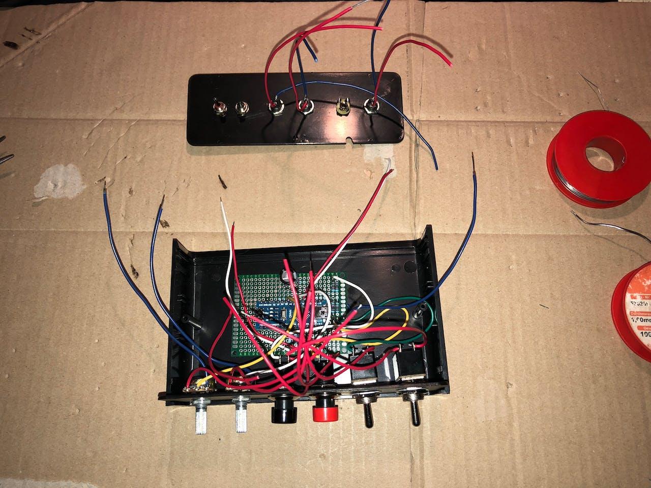 Stereo Neopixel Ring Vu Meter Audio Mono Circuit