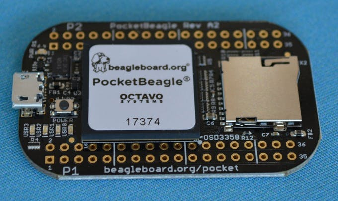 PocketBeagle is a $25 Linux PC great for projects