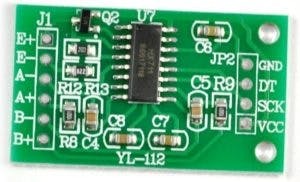HX711 Load Cell Amplifier Interface with Arduino