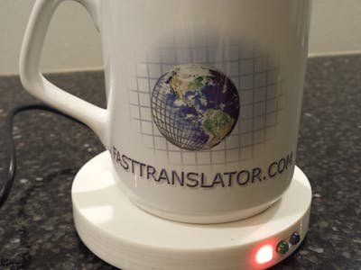 Jens Temperature Sensor Coaster