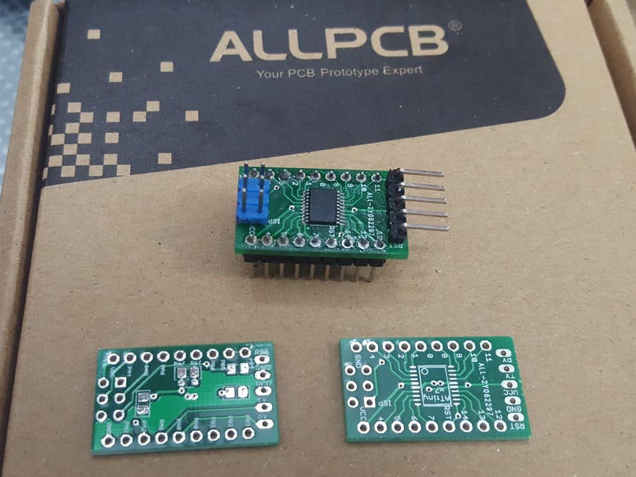 Yet Another Development Board for ATTiny MCU