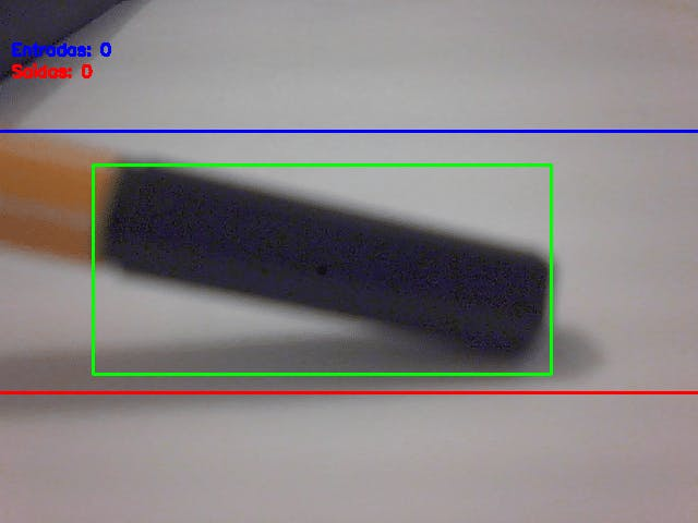 Figure 6 - object and its centroid (black point)