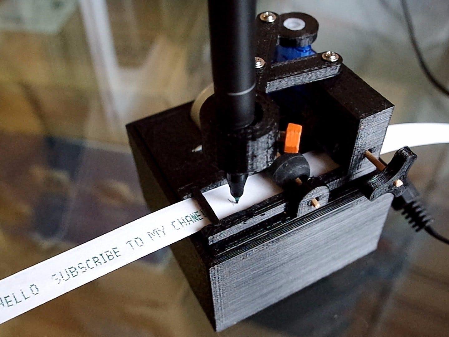 Arduino-Powered Telegraph