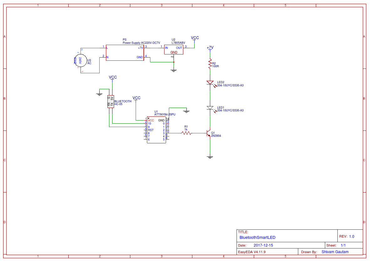 Smart Led Light Power Supply Schematic Schematics