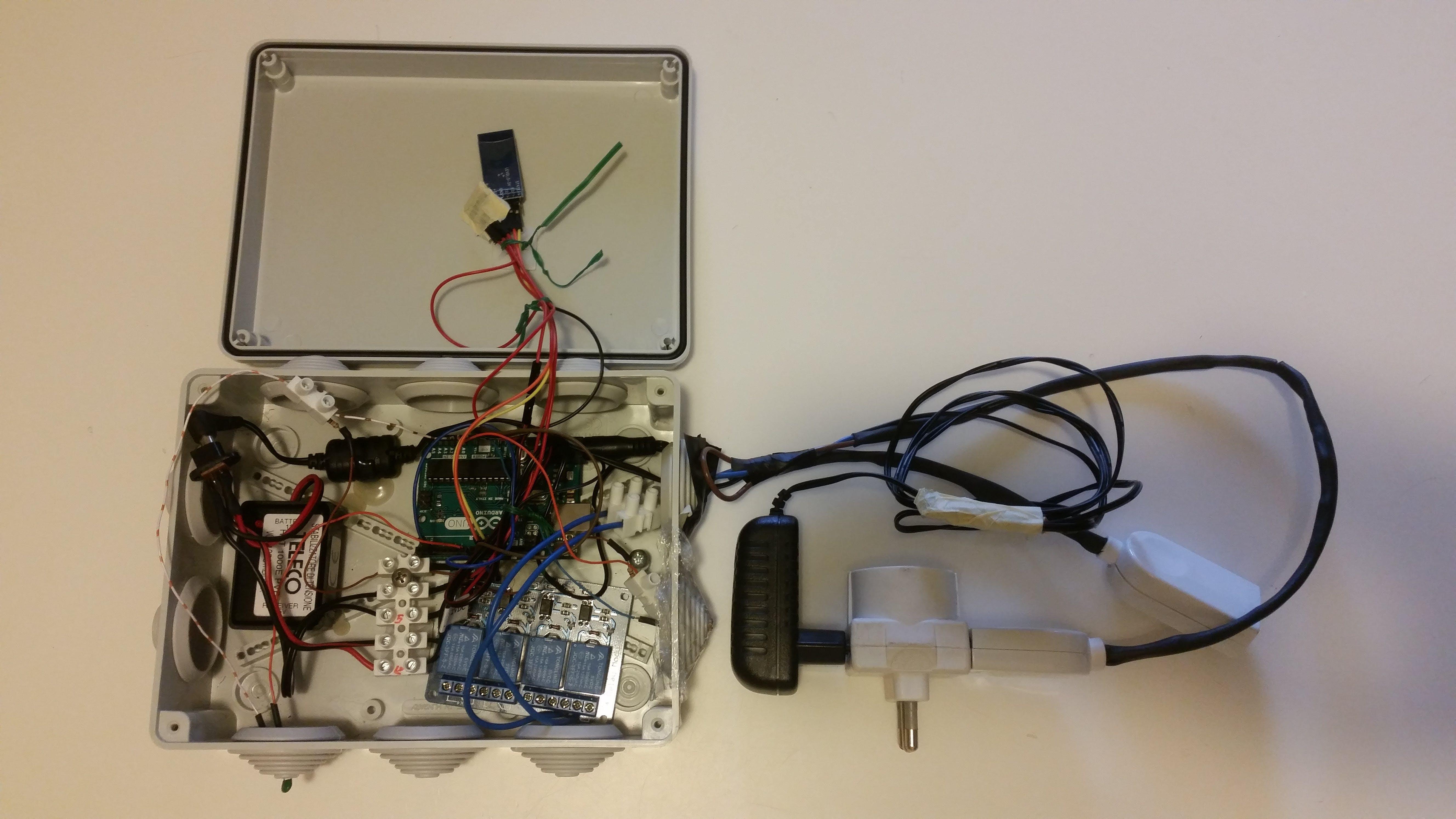 Bluetooth light control