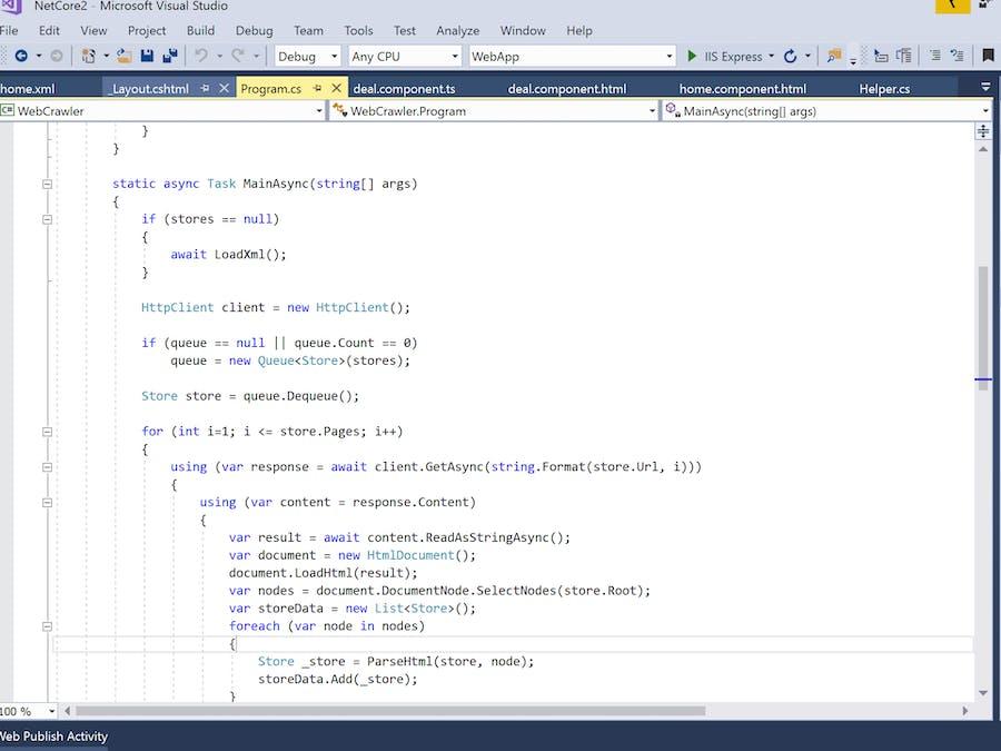 Running a .NET Core Web Crawler on a Raspberry Pi