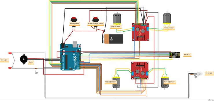 rc_car_wd_wo4F6O9wPA  Axis Joystick Wiring Diagram on pole contactor, channel car, bulb ballast, light fluorescent lamp ballast, speed single phase motor, three-way light switch, pole thermostat, channel car amplifier, lamp ballast, way switches,