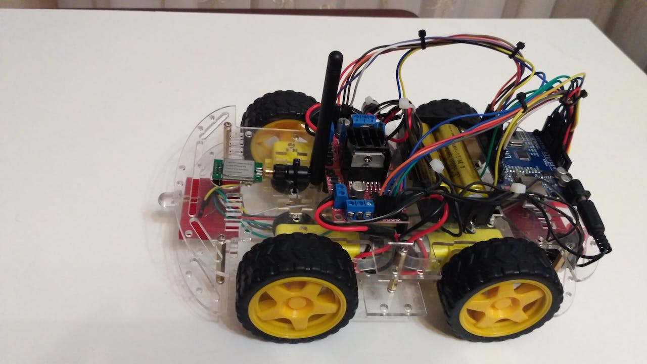 Arduino 4wd Rc Car Gas Wiring Diagram