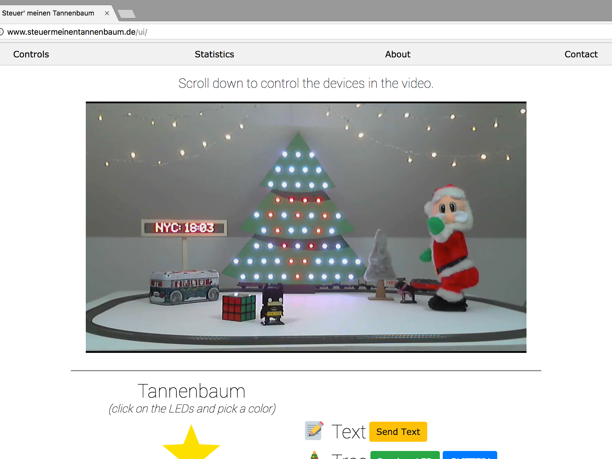I Let Everyone On The Internet Control My X Mas Decoration