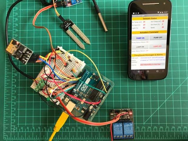 IoT Made Easy w/ UNO, ESP-01, ThingSpeak & MIT App Inventor