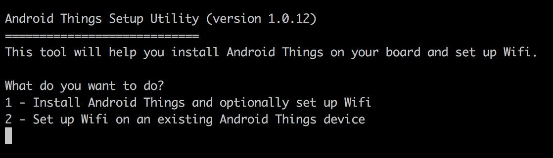 Flashing Android Things to Your Device - Hackster io