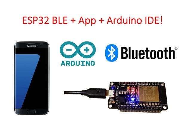 Esp ble android arduino ide awesome hackster