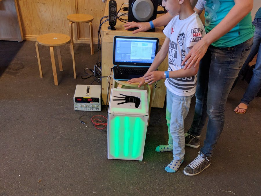 Leap Motion as MIDI Device - Hackster io