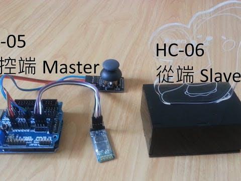 Arduino Customized Bluetooth Controller