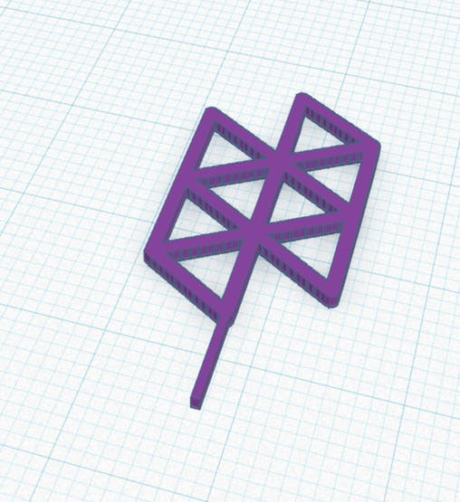 Hologram Logo with the stem