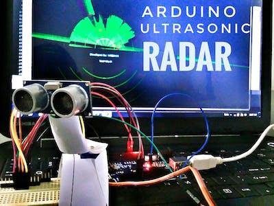 Arduino Ultrasonic Radar