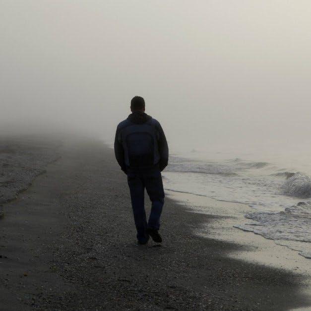 12684 lonely man alone walking beach ocean sea water 1200w tn ldazwprxeh