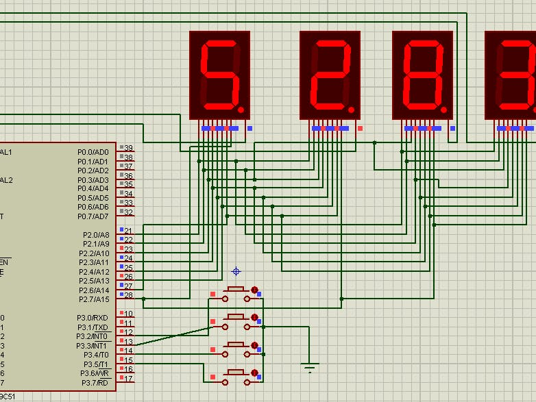 Electronic Voting Machine Using 8051 with 7-Segment Display ... on