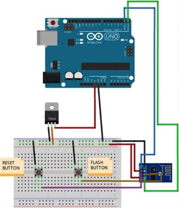 How to program ESP8266 using Arduino Uno