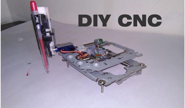 DIY Arduino Based Mini CNC Machine New Design
