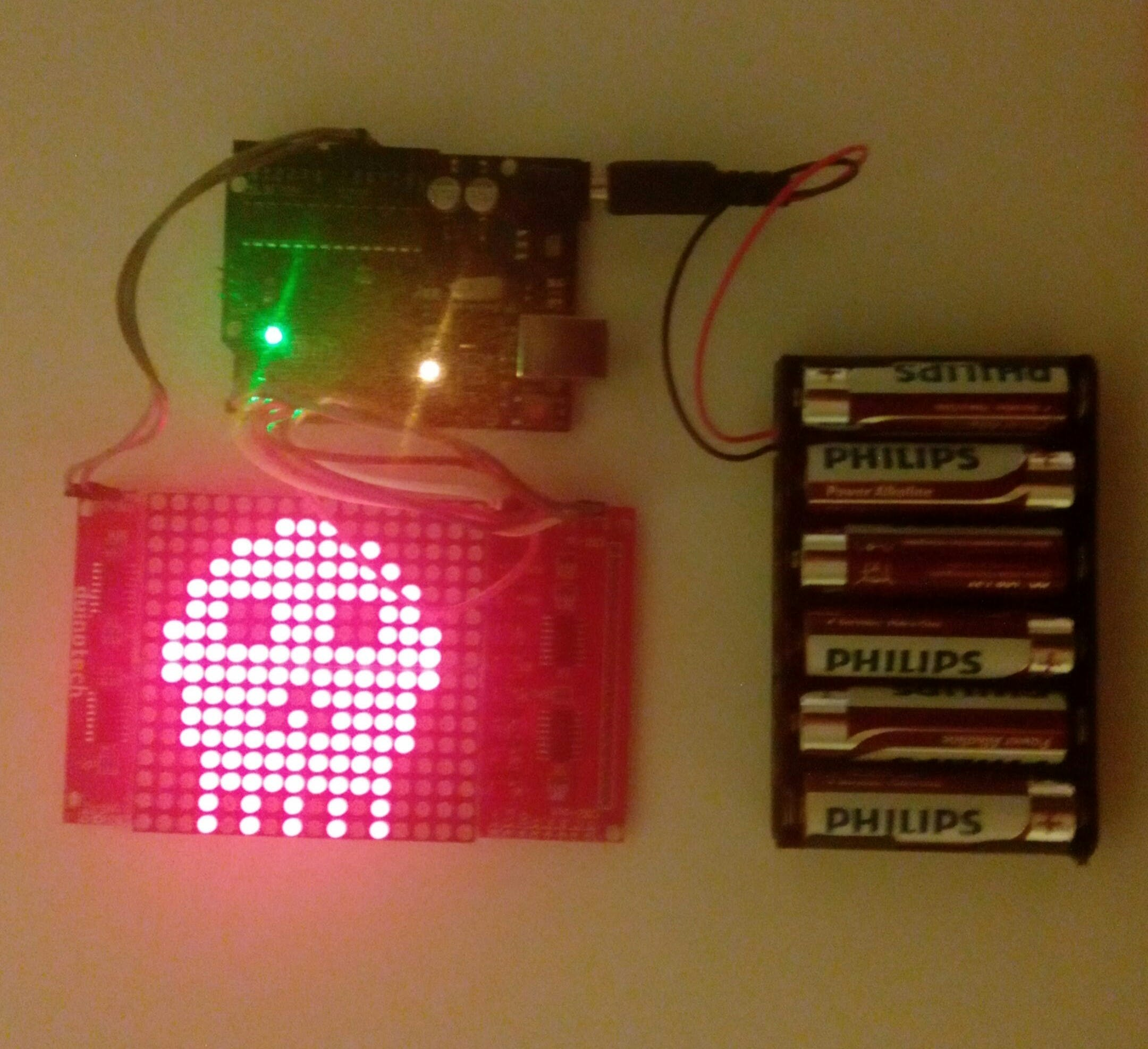 16x16 LED Matrix Display