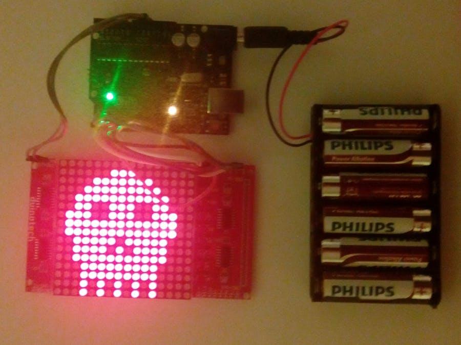 16x16 LED Matrix Display - Hackster io