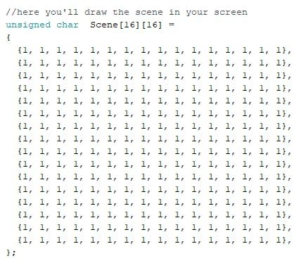 Where you have to replace the code