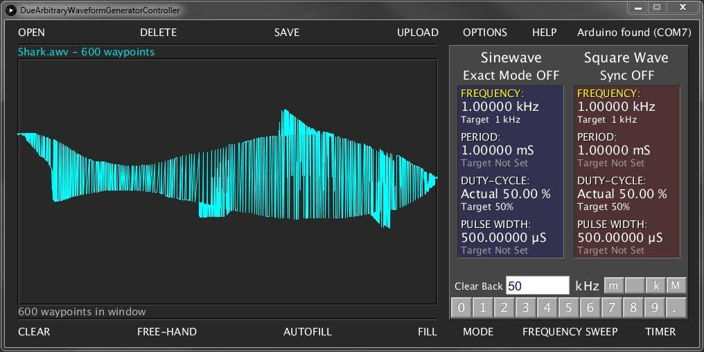 Arduino Due Arbitrary Waveform Generator - Arduino Project Hub