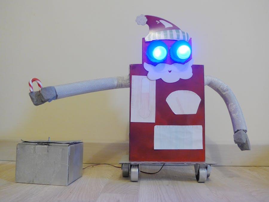 Xmas musical robot