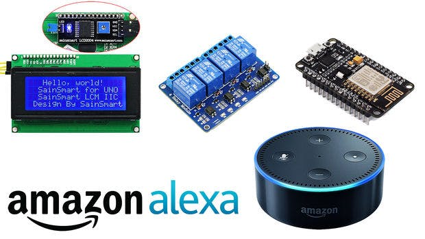 433mhz and WiFi Connected Amazon Alexa Hub