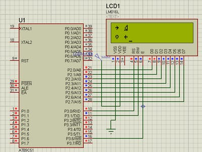 How to Print Custom Character in LCD With 8051