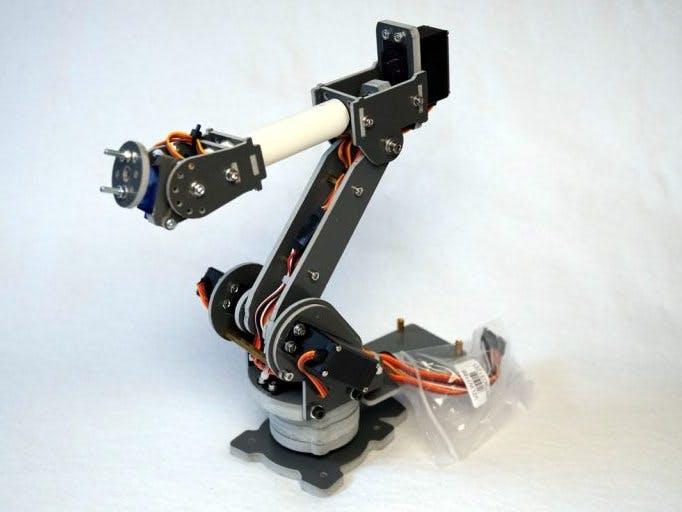 SainSmart 6-Axis Desktop Robotic Arm – Raspberry Pi Web UI - Hackster io