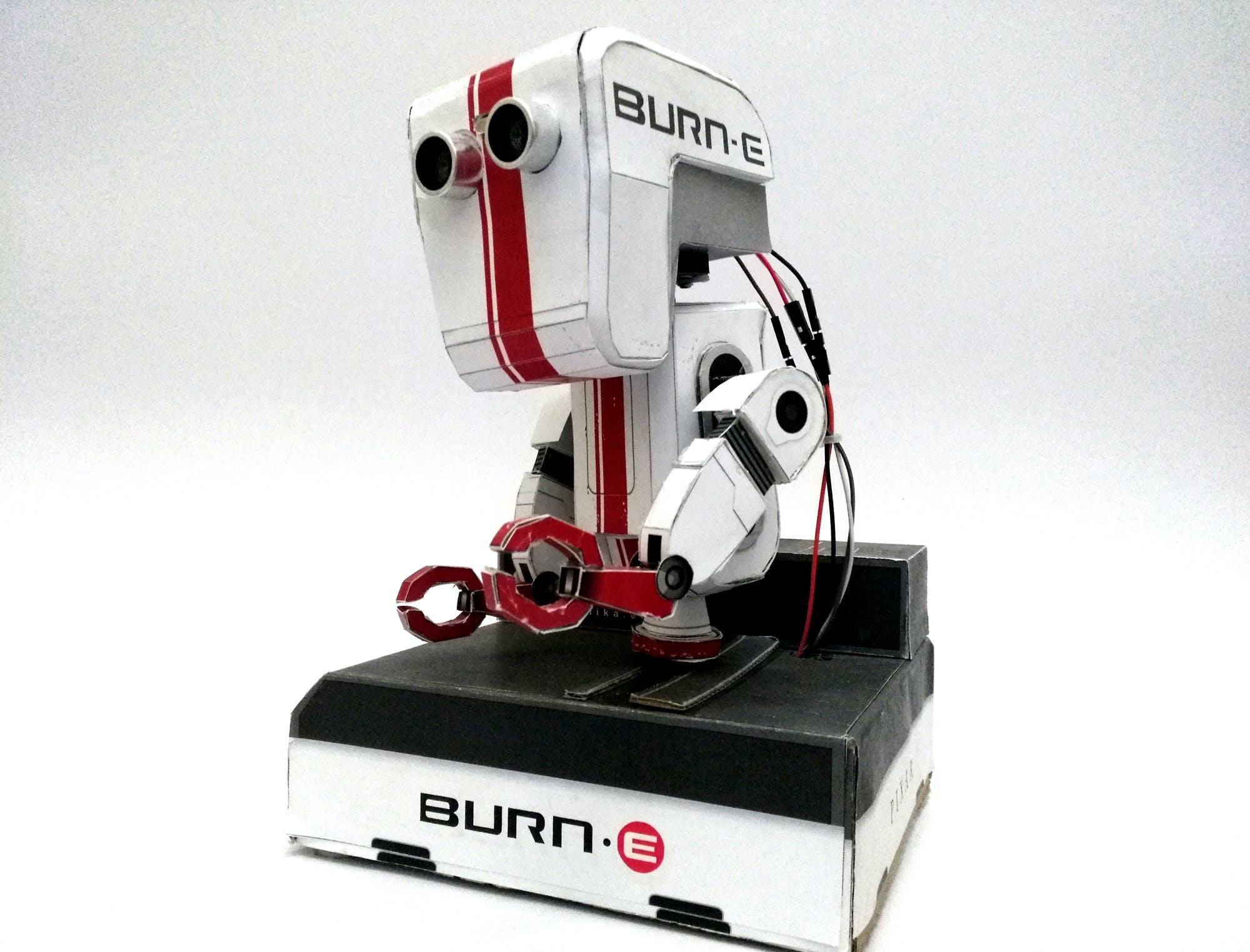 Burn-E Paper Craft Robot