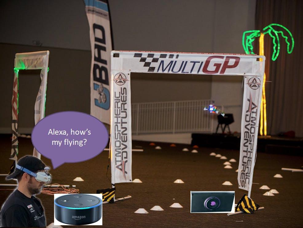 Drone Race Practice Companion