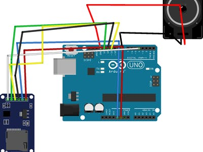 Speaker with Arduino and Micro SD