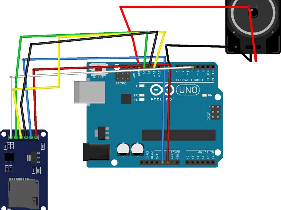 Speaker with Arduino and Micro SD - Arduino Project Hub