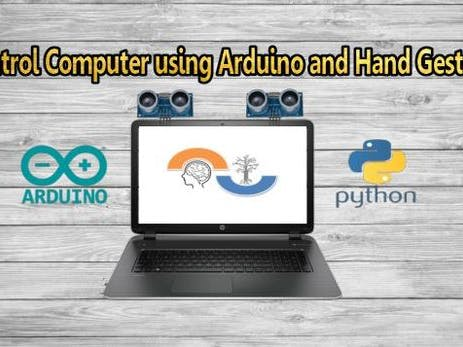 Amazing Control Computer Using Hand Motion And Arduino - Arduino