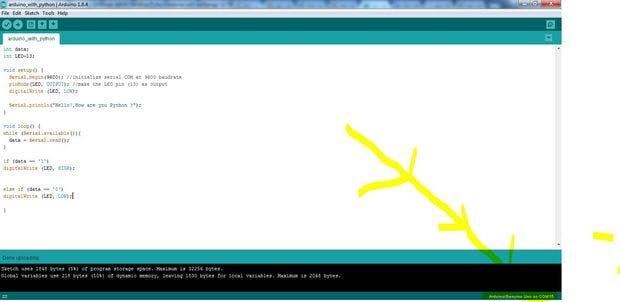 Programming Arduino Using Python!!! - Hackster io