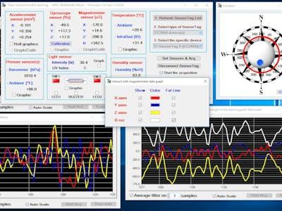 Windows BLE Analysis - A SensorTag Approach