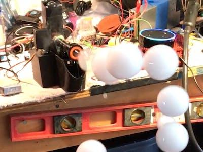 Alexa Controlled Bubble Fogger