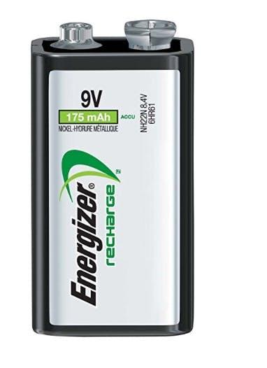Rechargeable 9Volt Battery
