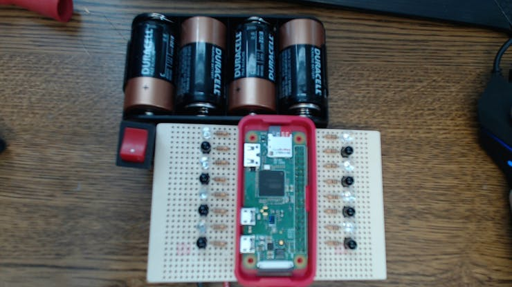 IR board with battery box