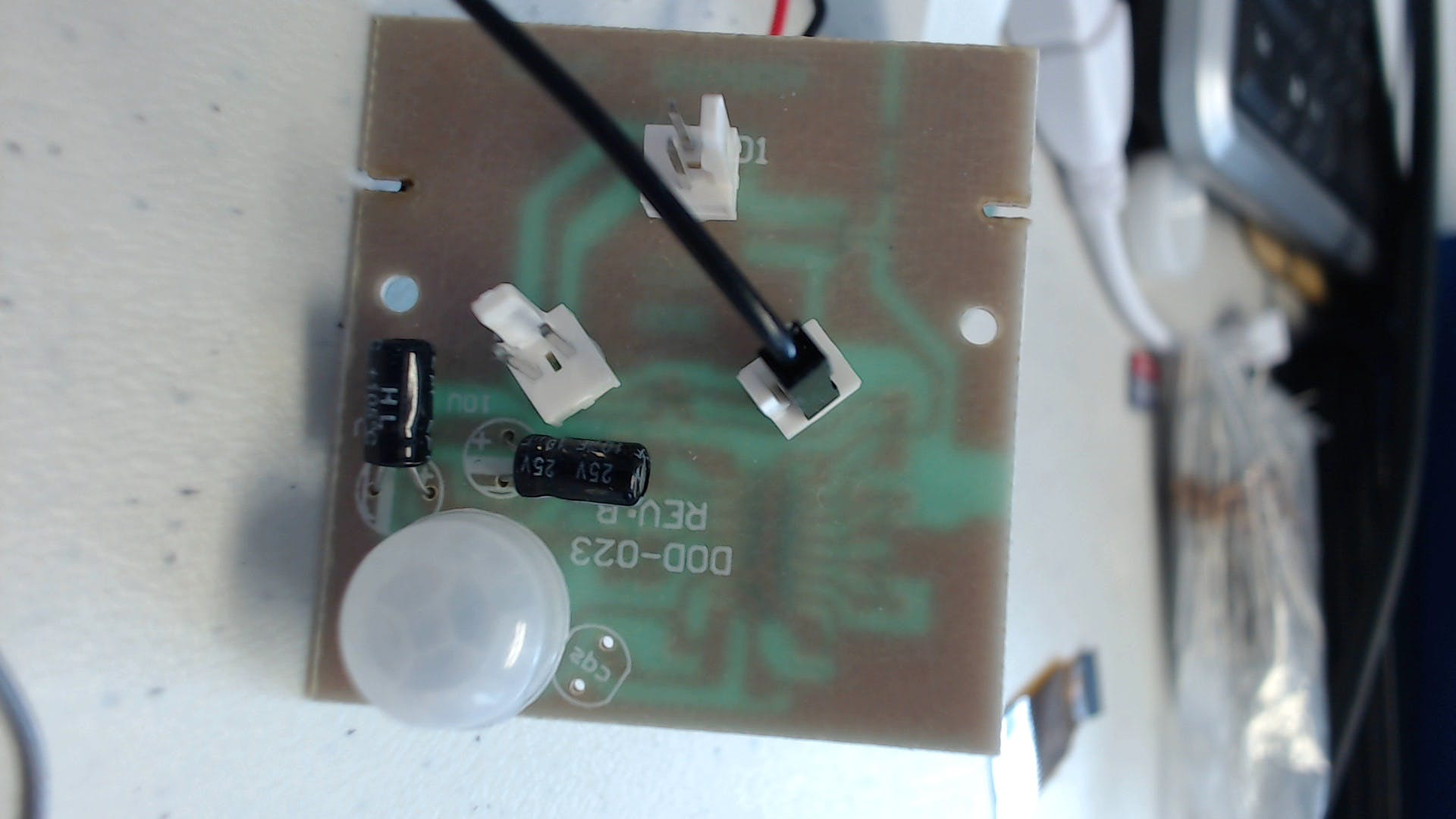 Motion Detection pcb