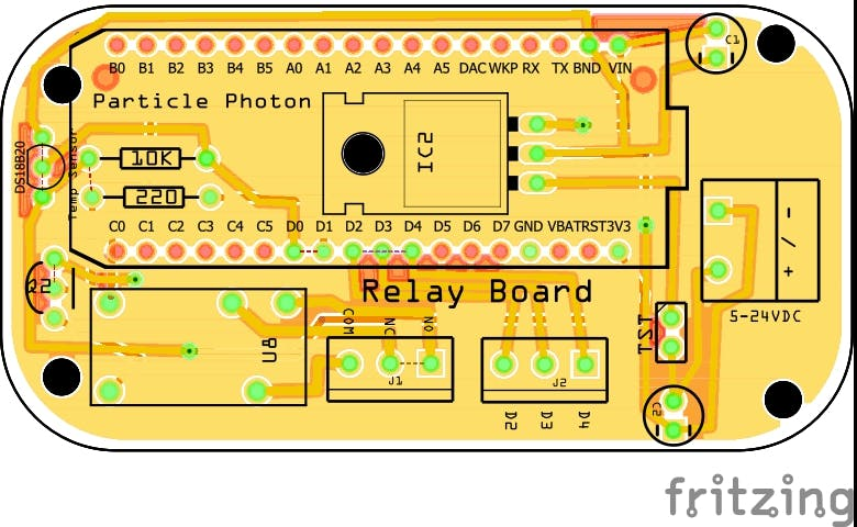 Relay/Input Board