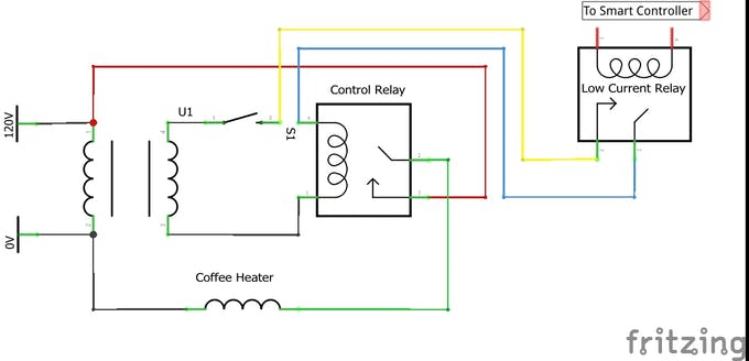 Interupting Control Circuit to remote control