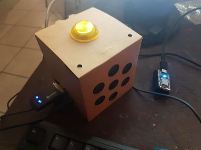 Integrating Google AIY Voice Kit with Particle Photon