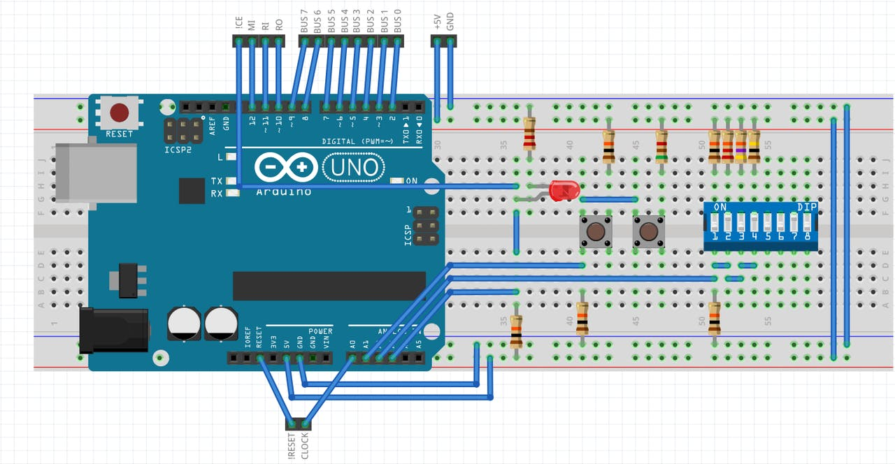 Breadboard Computer Programmer Eprom Circuit Diagram