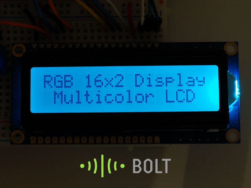 IoT-Enabled LCD Display