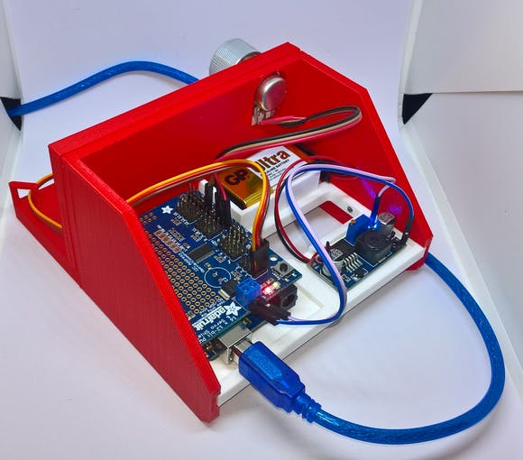 Read view of servo calibrator