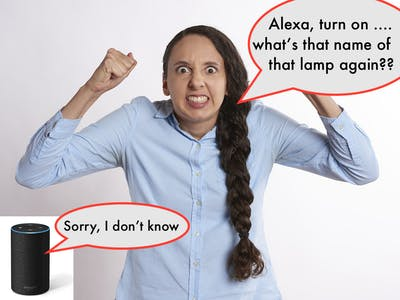 Alexa, Turn On THIS Lamp: Smart 3D Sensor for Amazon Echo